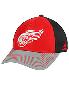 adidas Detroit Red Wings 2Tone Stitch Flex Cap