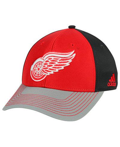 adidas Detroit Red Wings 2Tone Stitch Flex Cap
