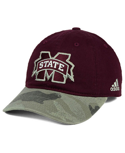 adidas Mississippi State Bulldogs Camo Code Slouch Cap