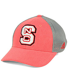 adidas North Carolina State Wolfpack Faded Flex Cap