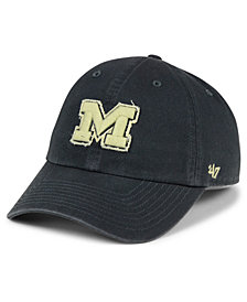 '47 Brand Michigan Wolverines Double Out CLEAN UP Cap