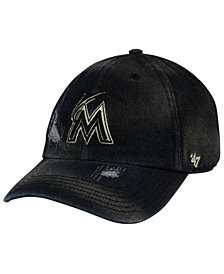 '47 Brand Miami Marlins Dark Horse CLEAN UP Cap