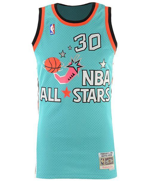 507320784 Mitchell   Ness Men s Scottie Pippen NBA All Star 1996 Swingman Jersey ...