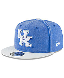 New Era Kentucky Wildcats Rugged Canvas Snapback Cap