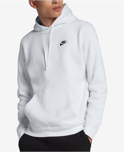Nike Men's Pullover Fleece Hoodie & Reviews Hoodies