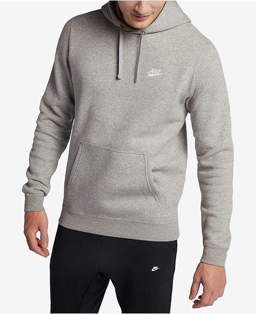 a2c5fa1d06a1 Nike Men s Pullover Fleece Hoodie  Nike Men s Pullover Fleece Hoodie ...