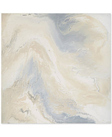 Madison Park Grey Marble Mist Gel-Coated Canvas Print