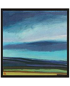 Madison Park Evening Sky Framed Gel-Coated Canvas Print