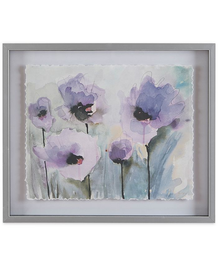 JLA Home - Madison Park Lilac Blooming Spring Framed Graphic Print