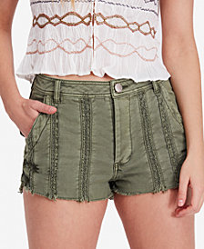 Free People Great Expectations Lacey Cotton Shorts