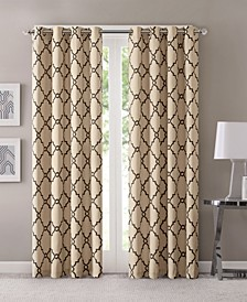 Saratoga Geometric Print Curtain & Valance Collection
