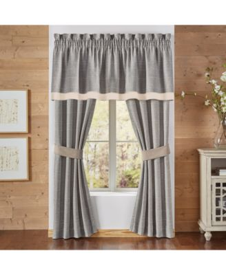 "Berin 84"" x 82"" Pole Top Window Drapery"