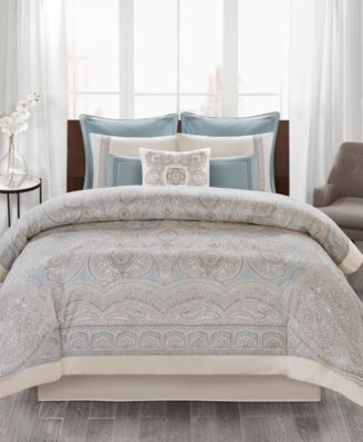 Design Larissa 3-Pc. Cotton Full/Queen Duvet Cover Set