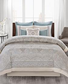 Echo Design Larissa 4-Pc. Cotton King Comforter Set