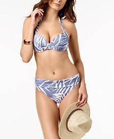 Calvin Klein Underwire Halter Bikini Top & Cheeky Bottoms