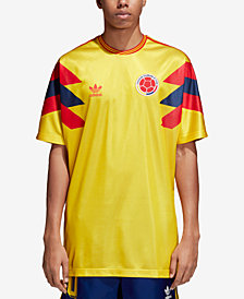 adidas Men's Originals Colombia Replica Soccer T-Shirt