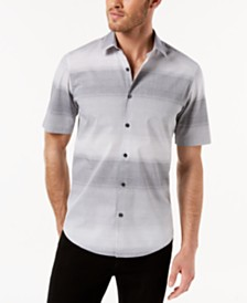 Alfani Men's Ombré Shirt, Created for Macy's