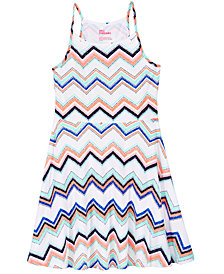 Epic Threads Big Girls Printed Skater Super-Soft Dress, Created for Macy's