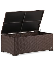 Serta Laguna Outdoor Storage Coffee Table, Quick Ship