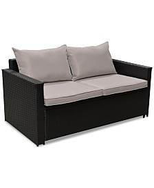 Serta Laguna Sofa & Coffee Table, Quick Ship