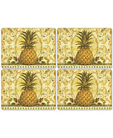 Pimpernel Golden Pineapple Set of 4 Placemats