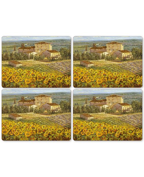 Pimpernel Tuscany Set of 4 Placemats - Table Linens - Dining ...
