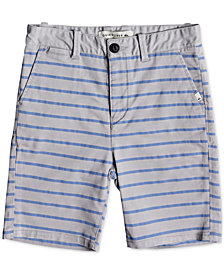 Quiksilver Waiku Plain Striped Shorts, Little Boys