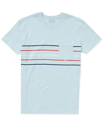 Billabong Striped Pocket Cotton T-Shirt, Big Boys