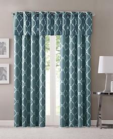 Madison Park Saratoga Fretwork-Print Grommet Curtain Panel & Valance Collection