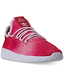 adidas Little Boys' Originals Pharrell Williams Tennis HU Casual Sneakers from Finish Line