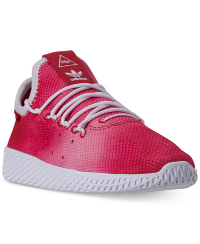 adidas Little Boys' Originals Pharrell Williams Tennis HU Casual Sneakers from Finish Line