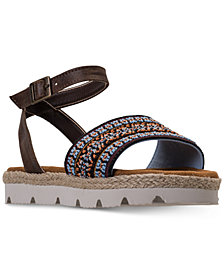 Bearpaw Big Girls' Kahala Ankle Strap Sandals from Finish Line