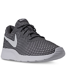 Nike Men's Tanjun SE Casual Sneakers from Finish Line