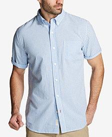 Weatherproof Vintage Men's Seersucker Gingham Shirt