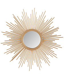 Madison Park Fiore Sunburst Small Mirror