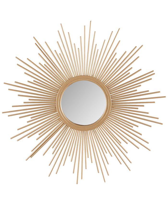 JLA Home - Madison Park Fiore Sunburst Small Mirror