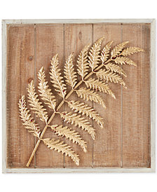 Madison Park Fern Leaf Decor