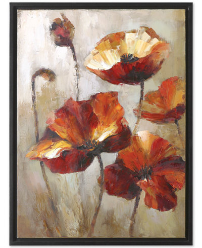 Uttermost Window View Floral Wall Art