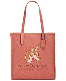 COACH Unicorn Medium Tote