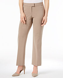 JM Collection Petite Extended-Tab Trousers, Created for Macy's