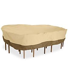 Medium Rectangle Patio Set Cover, Quick Ship