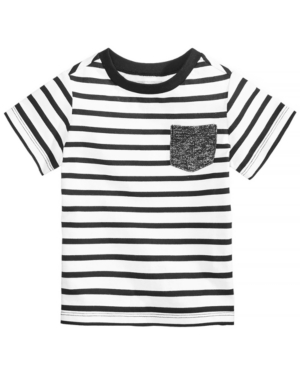 First Impressions Baby Boys Striped Cotton TShirt Created for Macys