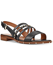 Nine West Chaylen Studded Flat Sandals
