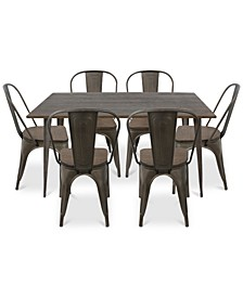 Oregon 7-Pc. Dining Set