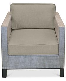 Laguna Outdoor Club Chair Replacement Sunbrella® Cushion, Quick Ship