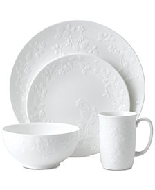 Wedgwood Wild Strawberry White 4-Pc. Place Setting