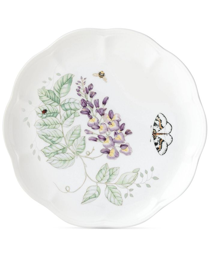 """Lenox - """"Butterfly Meadow"""" Accent/Salad Plate"""