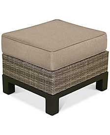 North Port Ottoman Replacement Sunbrella® Cushion, Quick Ship
