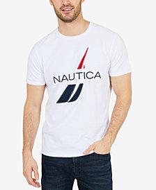 Nautica Men's Logo Graphic-Print T-Shirt, Created for Macy's