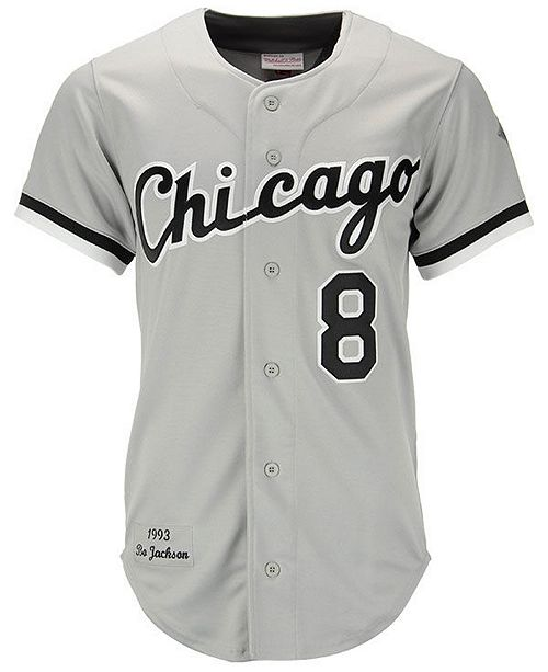 buy popular 2ffce 67785 Mitchell & Ness Men's Bo Jackson Chicago White Sox Authentic ...
